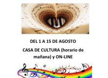 """Matrícula """"Escuela de Música"""" Curso 20/21"""