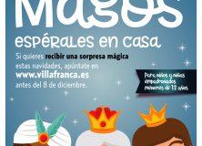 APÚNTATE PARA RECIBIR LA SORPRESA DE LOS REYES MAGOS PARA LOS NIÑOS Y NIÑAS DE VILLAFRANCA