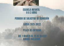 ESCUELA INFANTIL CURSO 2021/2022. SOLICITUD PREINSCRIPCIÓN
