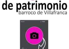 """CONCURSO DE FOTOGRAFÍA """"EL PATRIMONIO BARROCO DE VILLAFRANCA"""""""